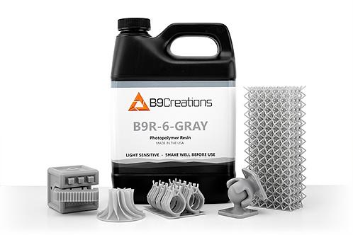 B9R-6-Gray Resin