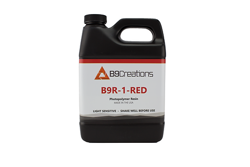 B9R-1-Red Resin