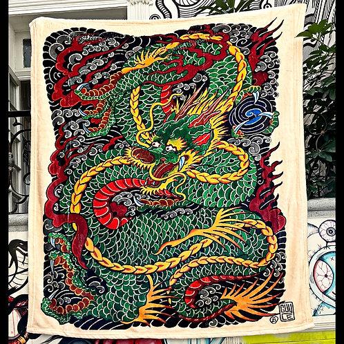 Guy's dragon blanket