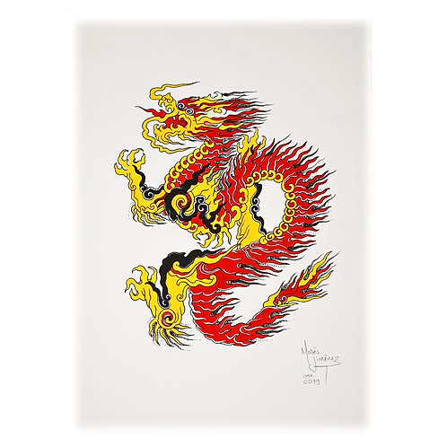 Untitled (Dragon I)