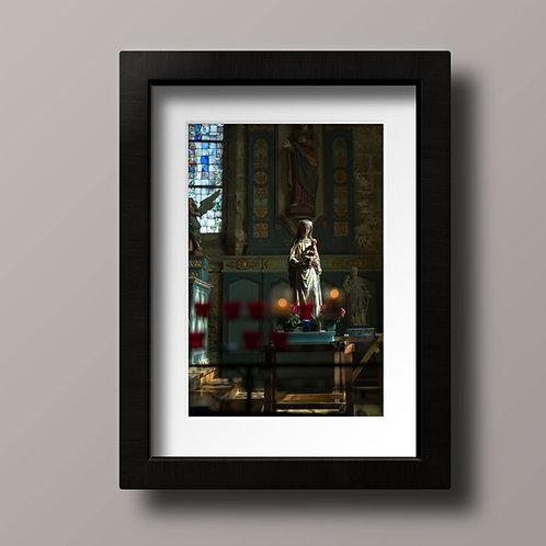 Vierge à l'enfant - Ref R001