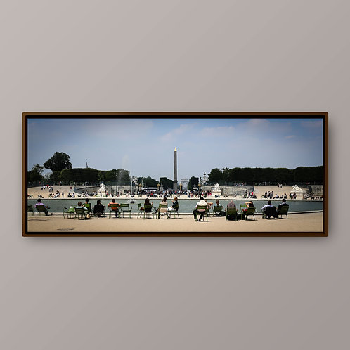 Paris - Jardin des Tuileries- Ref LC001