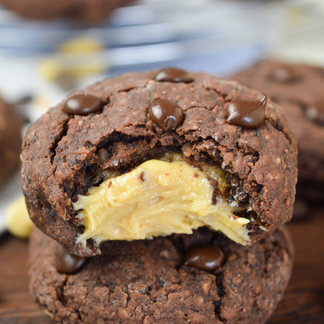 FILLED PROTEIN COOKIES