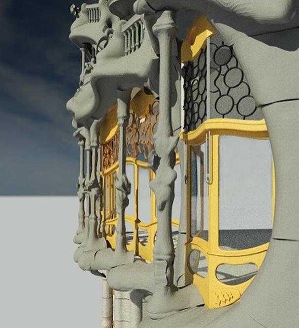 3D - Casa Batlló