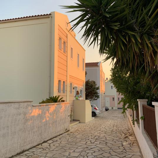 Villa Apsida - inngang