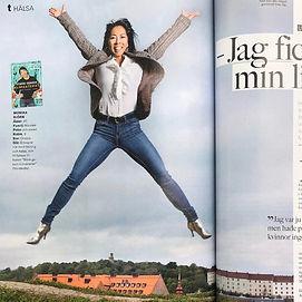 bilde fra magasin om klimakteriebok - fr