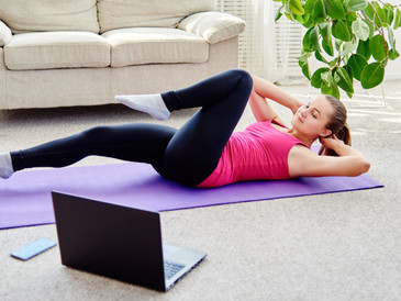 Virtual Fitness Classes   Staying Active While Being in Lockdown Again