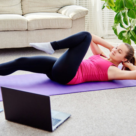 Virtual Fitness Classes | Staying Active While Being in Lockdown Again