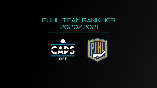 PJHL Rankings Image