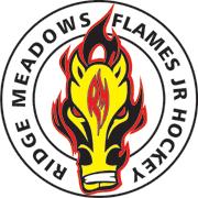 Ridge Meadows Flames Logo Image