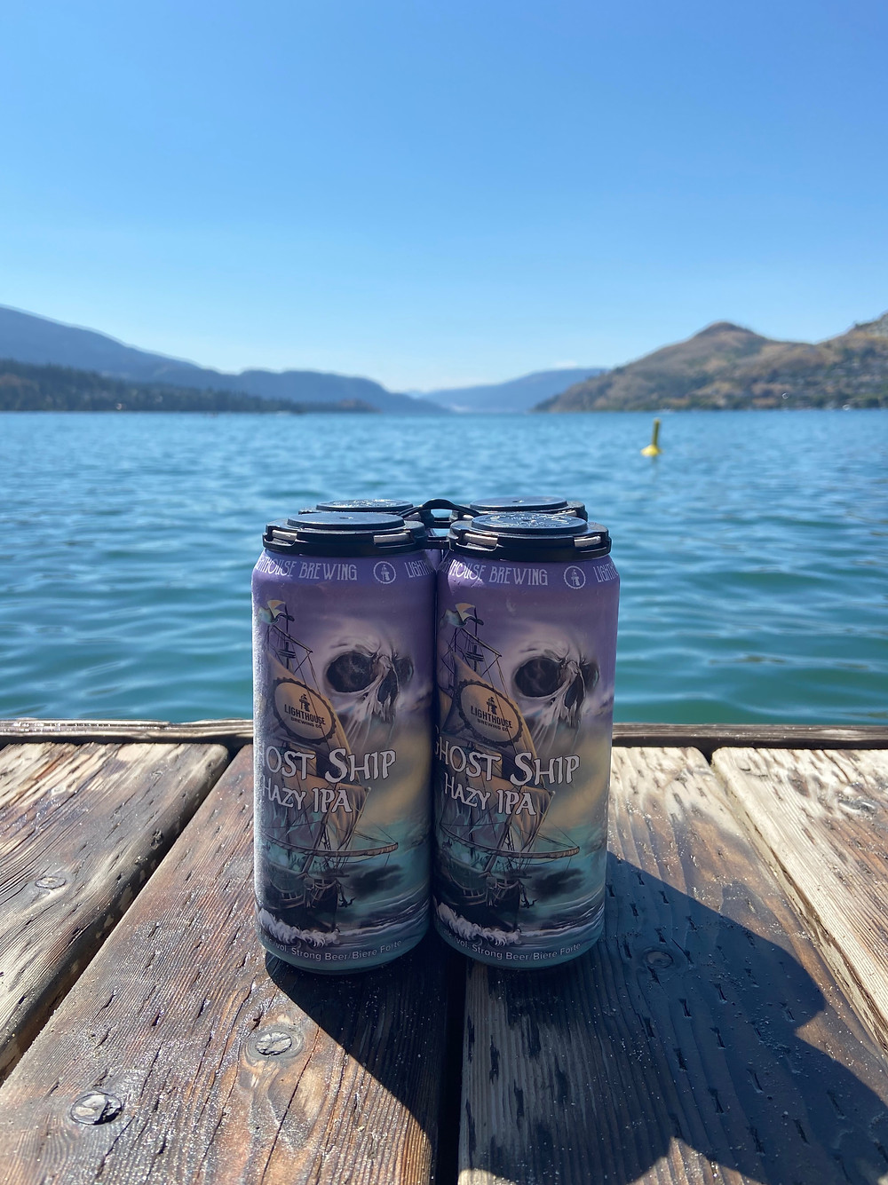 Lighthouse Brewing Ghost Ship Hazy IPA Image