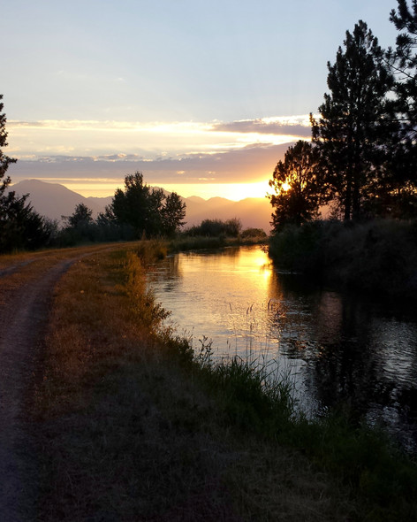 Big Ditch Sunset