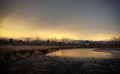 sapphire sunset