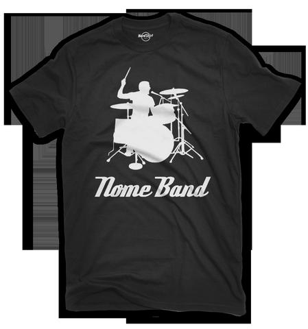 T-shirt Drummer Personalizzata