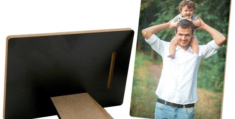 Cornice in legno 13x18 cm con stampa personalizzata