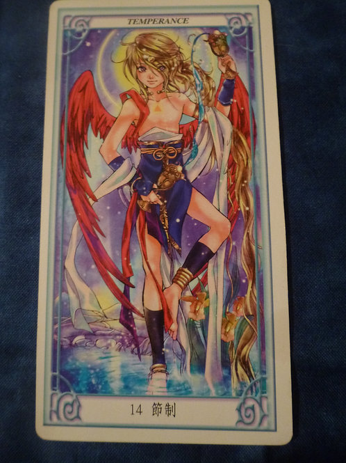 Oversouls of the Tarot: Temperance