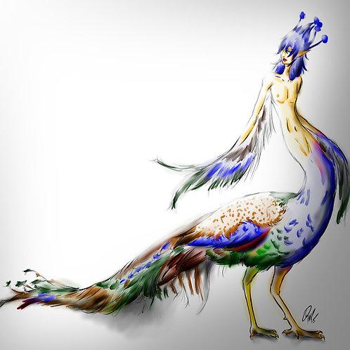 Custom Conjure: Peacock Harpies