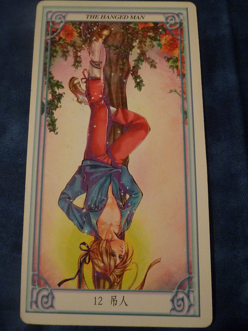 Oversouls of the Tarot: The Hanged Man