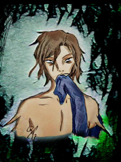 RESERVED: Pre-Conjure Male Shuun Daemon - Brandish