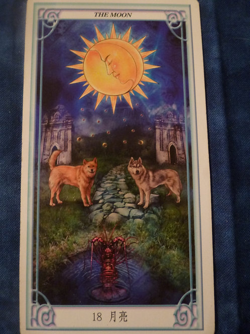 Oversouls of the Tarot: The Moon