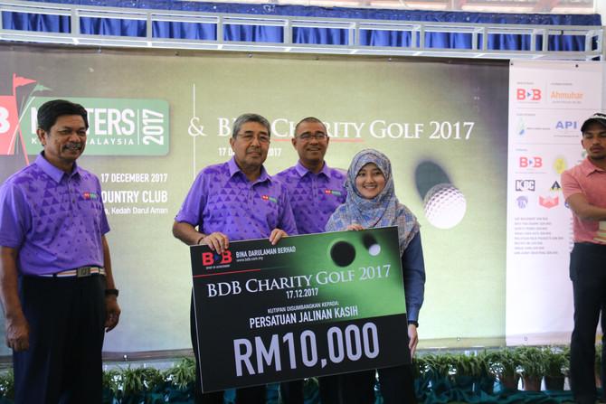 Kejohanan BDB Masters & Charity Golf 2107