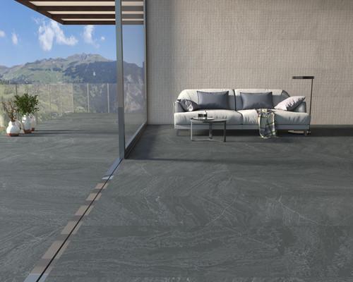 Slatestone Black 24x48 and Textures Slat