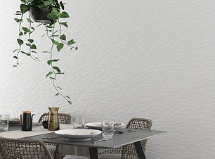 12x36 #-Dimensional White Tile - Candle Minor