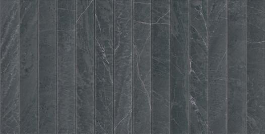 OUTLINE SLATESTONE BLACK 18x36