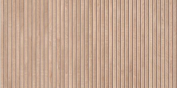 Kendrige Ribbon Maple 24x48 Porcelain Tile by Mirrella
