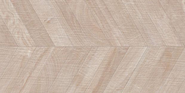 """24""""x48"""" Kenridge Chevron Bone Wook Look Tile by Mirrella"""
