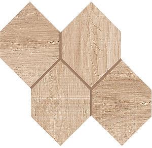 Kenridge Maple Hexagon Mosaic Porcelain Tile