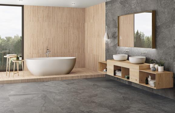 Ribbon Artwood Maple 24x48 Porcelain Tile