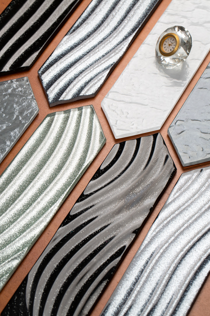 Hexagon Glass Tile