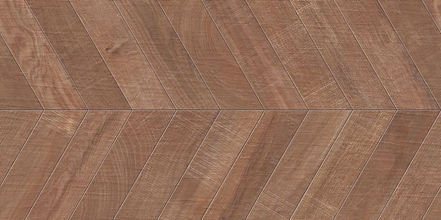 """24""""x48"""" Chevron Kenridge Wook Look Tile by Mirrella"""