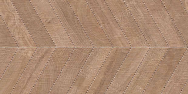 "24""x48"" Chevron Kenridge Wook Look Porcelain Tile by Mirrella"