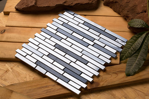 Mirrella Tile, Metal Tiles