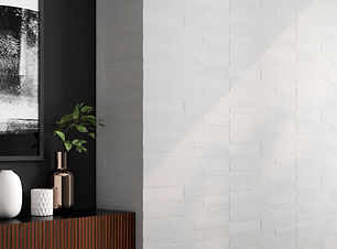 12x36 Textured Pure White Tile - Candle Riva