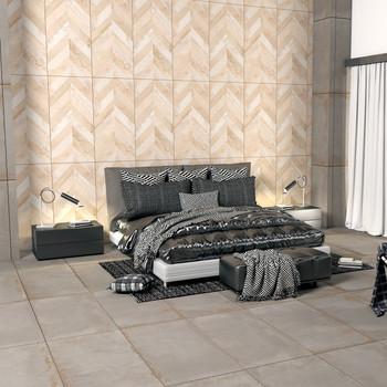 Chevron Decor Meridian Porcelain Tile