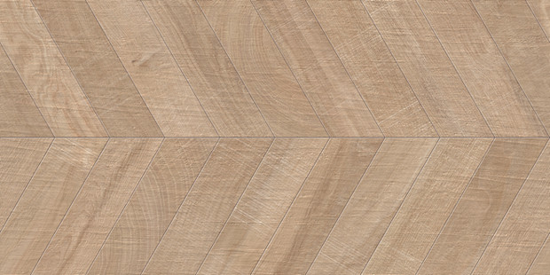 "24""x48"" Kenridge Chevron Maple Porcelain Tile"