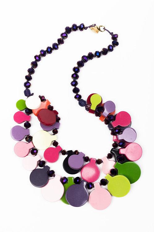 Collana beaded Multicolor