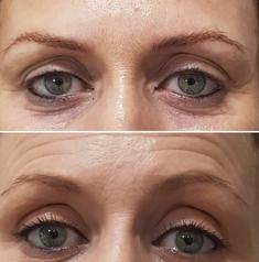 Eyeliner and Eyebrows