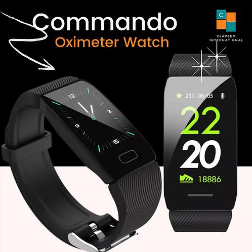 CLAPSEM Commando Oximeter Smart Fitness Watch.