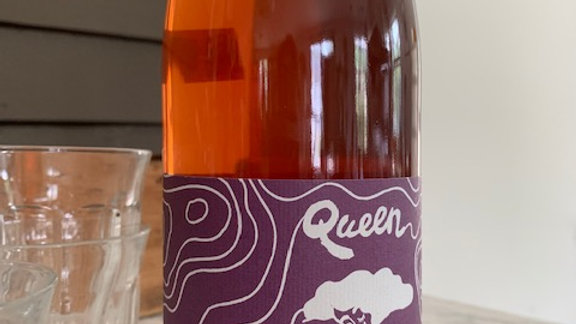 Forlorn Hope Queen of the Sierra Amber- grippy tannins and tight acid