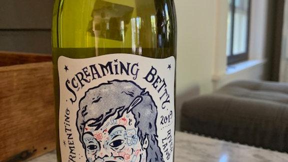 Delinquente Screaming Betty Vermentino, briny sea air w/long finish, pure summer