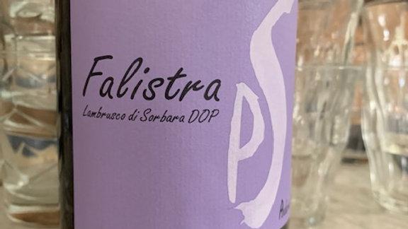 Poderi Saliceto Falistra Lambrusco- dry fruity dreams you crave in a lambrusco