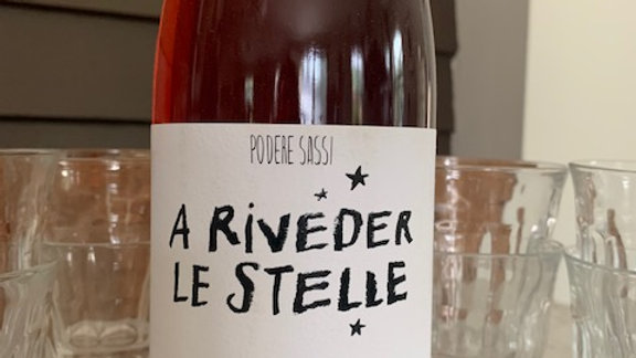 Sassi a Riveder Le Stelle, I can't pass anything up from this winemaker