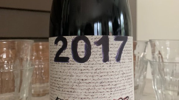 Passopisciaro Passorosso 2017, mid weight but deep, sultry and concentrated