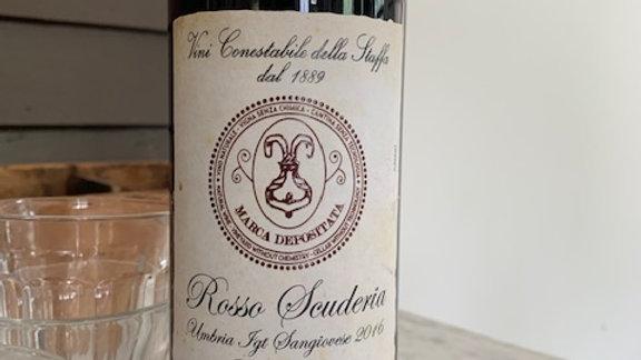"""Conestabile della Staffa Scuderia Sangiovese """"Grosso"""", simple easy drinking"""
