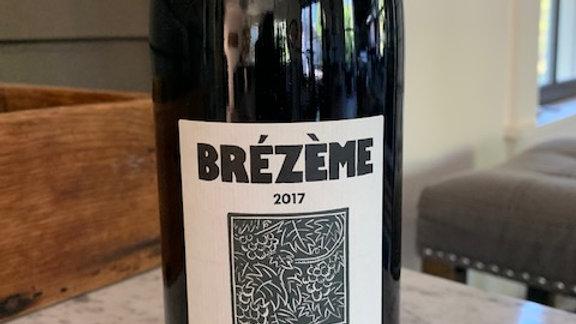 Texier Brezeme Cotes du Rhone 2017, dry, medium bodied, fresh, raspberries