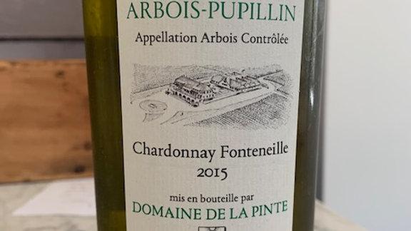 Arbois -Pupillin Jura Chardonnay Fonteneille, truly a special wine